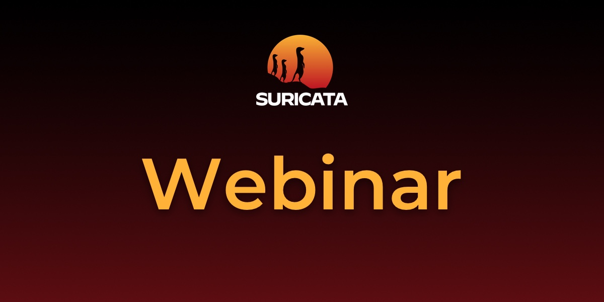 Suricata webinar featured image